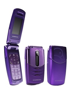 Mobile phone Alcatel Mandarina Duck. Photo 1
