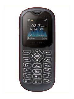 Mobile phone Alcatel OT 208. Photo 1