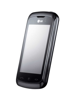 Mobile phone LG KM555e. Photo 1