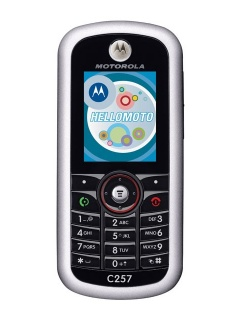 Mobile phone Motorola C257. Photo 1