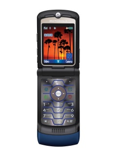 Mobile phone Motorola RAZR V3i. Photo 1