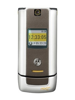 Mobile phone Motorola ROKR W6. Photo 1