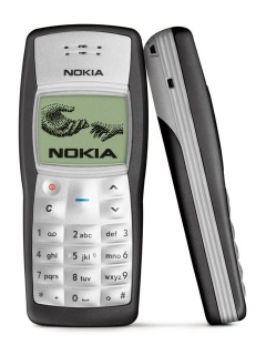 Mobile phone Nokia 1100. Photo 1