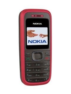 Mobile phone Nokia 1208. Photo 1