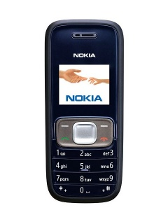 Mobile phone Nokia 1209. Photo 1