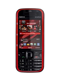 Mobile phone Nokia 5730 XpressMusic. Photo 1