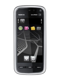 Mobile phone Nokia 5800 Navigation Edition. Photo 1