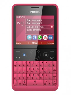 Mobile phone Nokia Asha 210. Photo 1