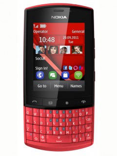 Mobile phone Nokia Asha 303. Photo 1