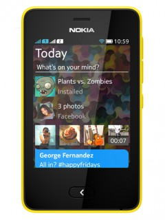 Mobile phone Nokia Asha 501. Photo 1