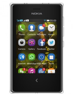 Mobile phone Nokia Asha 503 Dual SIM. Photo 1