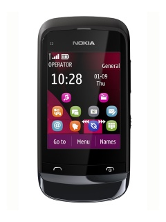 Mobile phone Nokia C2-02. Photo 1