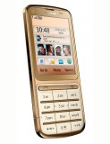 Mobile phone Nokia C3-01 Gold Edition. Photo 3