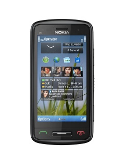 Mobile phone Nokia C6-01. Photo 1