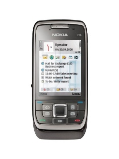 Mobile phone Nokia E66. Photo 1