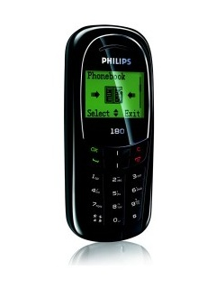 Mobile phone Philips 180. Photo 1