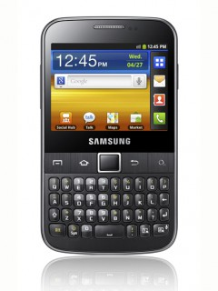 Mobile phone Samsung B5510 Galaxy Y Pro. Photo 1
