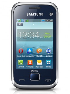 Mobile phone Samsung C3312R Duos Rex 60. Photo 1