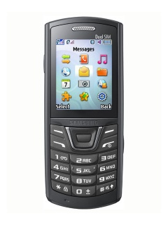 Mobile phone Samsung E2152 Duos. Photo 1