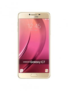 Mobile phone Samsung Galaxy C7. Photo 1