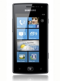 Mobile phone Samsung i8350 Omnia W. Photo 1