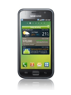 Mobile phone Samsung I9000 Galaxy S. Photo 1