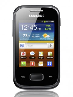Mobile phone Samsung S5300 Galaxy Pocket. Photo 1
