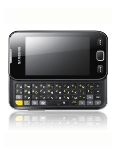 Mobile phone Samsung S5330 Wave533. Photo 1