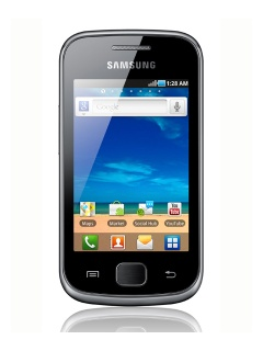 Mobile phone Samsung S5660 Galaxy Gio. Photo 1