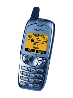 Mobile phone Siemens SL45. Photo 1