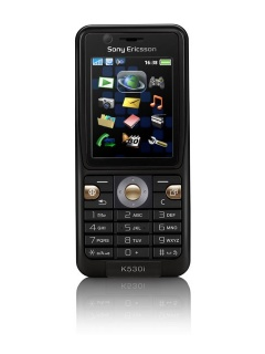Mobile phone Sony Ericsson K530i. Photo 1