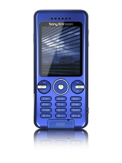 Mobile phone Sony Ericsson S302. Photo 1