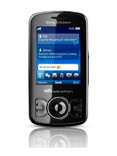 Mobile phone Sony Ericsson W100i Spiro. Photo 1