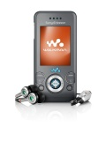 Mobile phone Sony Ericsson W580i. Photo 5