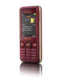 Mobile phone Sony Ericsson W660i. Photo 1