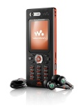 Mobile phone Sony Ericsson W880i. Photo 2
