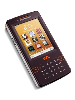 Mobile phone Sony Ericsson W950i. Photo 1